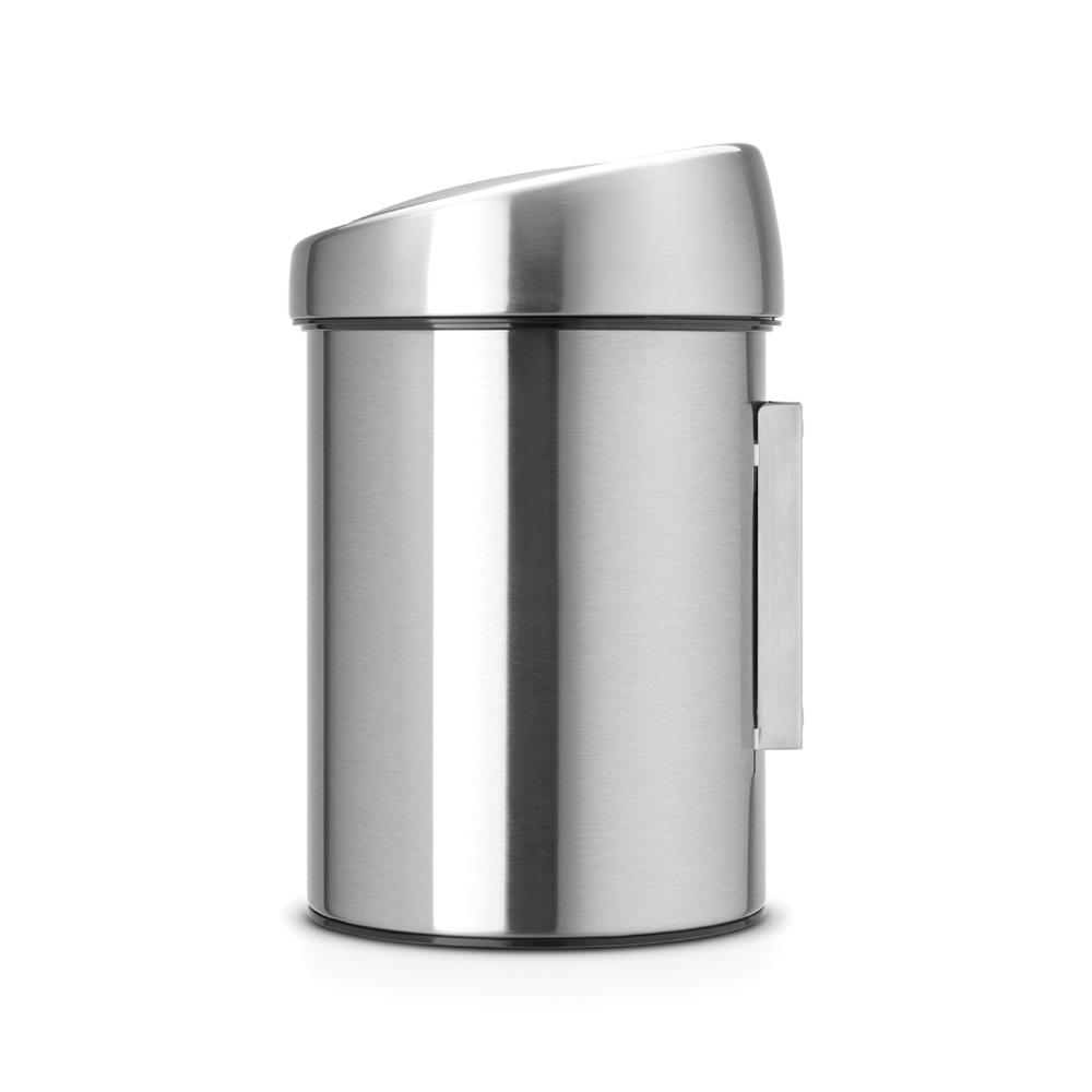 Кош за смет Brabantia Touch Bin 3L, Matt Steel Fingerprint Proof(1)