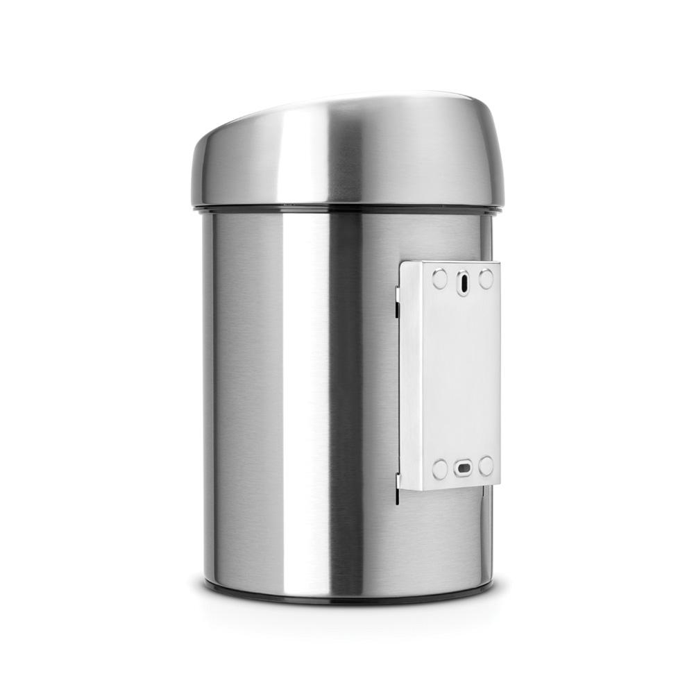 Кош за смет Brabantia Touch Bin 3L, Matt Steel Fingerprint Proof(2)