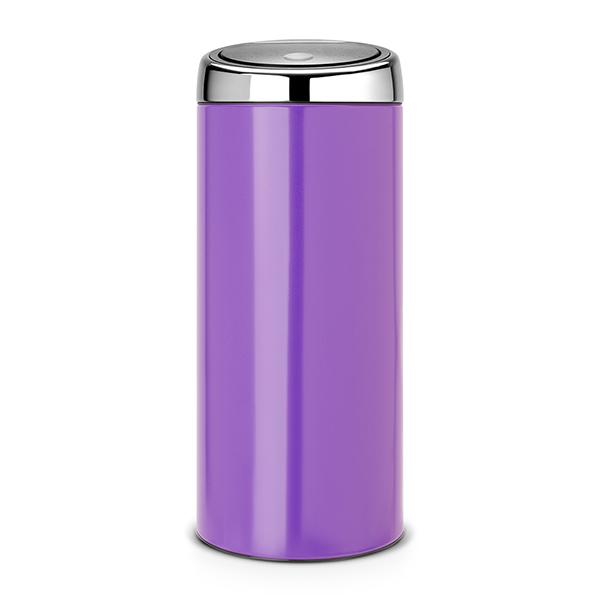 Кош за смет Brabantia Touch Bin 30L, Pansy Purple