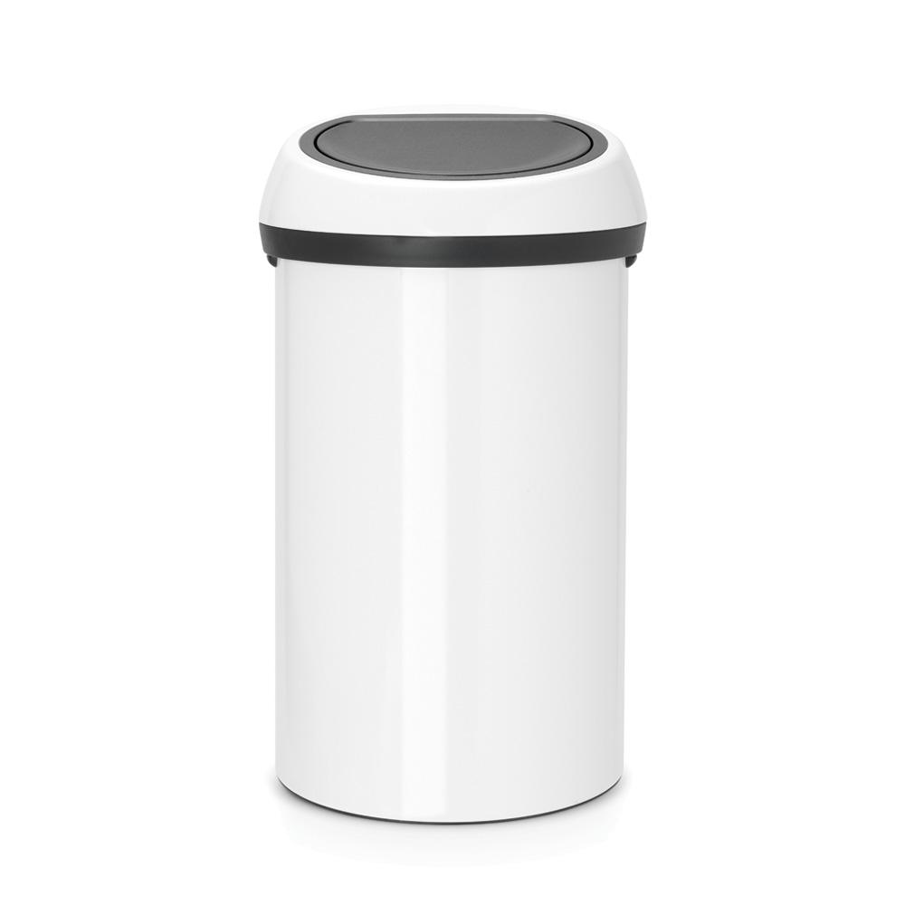 Кош за смет Brabantia Touch Bin 60L, White