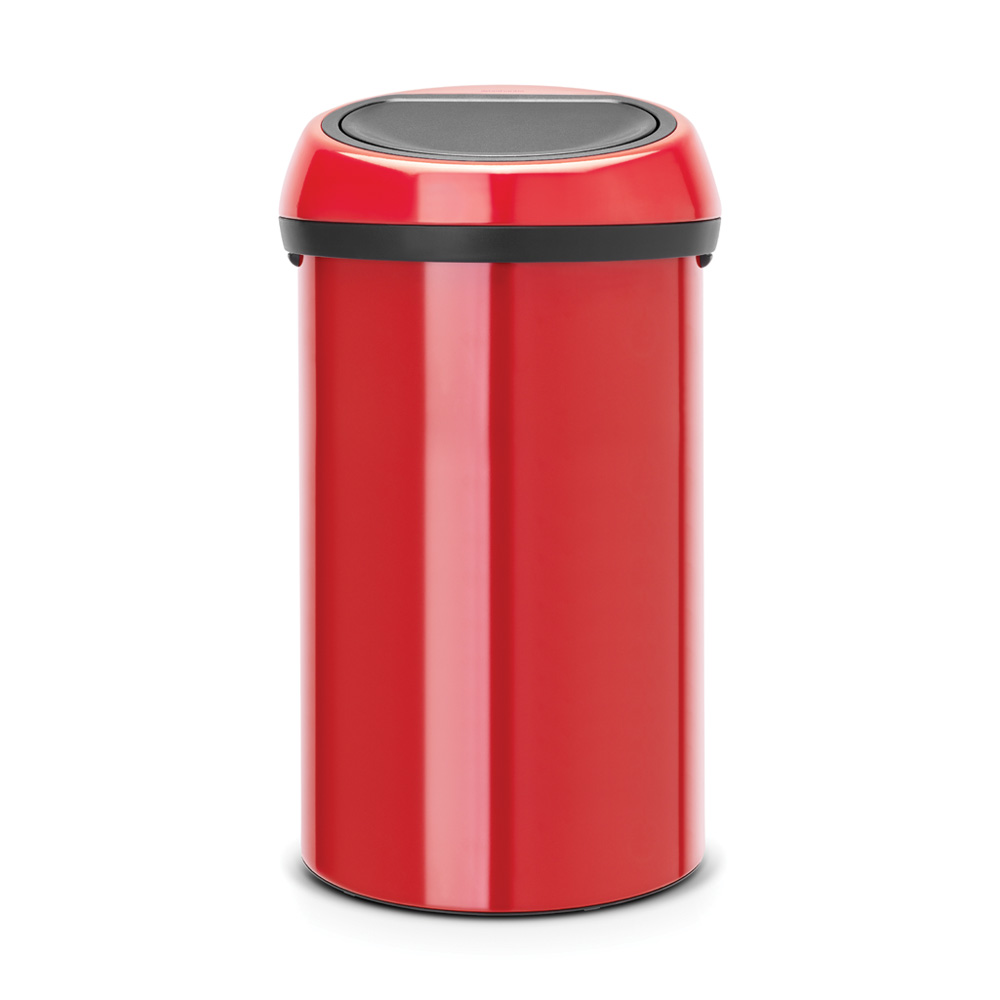 Кош за смет Brabantia Touch Bin 60L, Passion Red