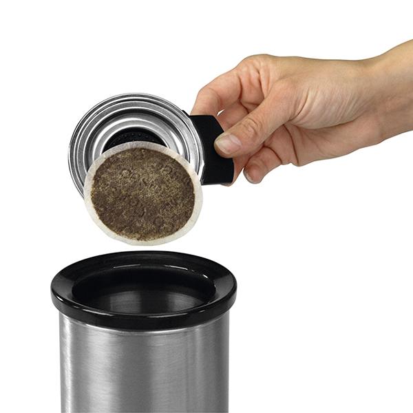 Кош за капсули от кафе Brabantia Matt Steel(2)