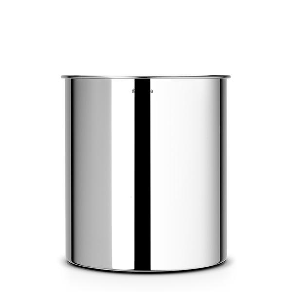 Кош за хартия Brabantia 7L, Brilliant Steel