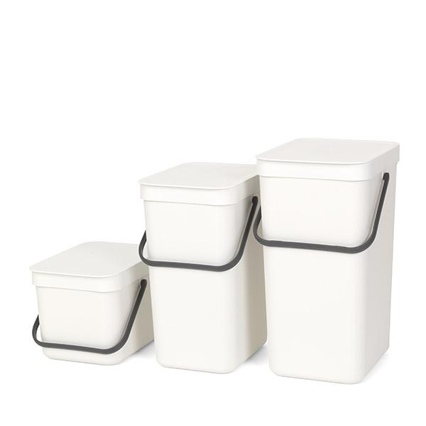 Кош за смет за разделно събиране Brabantia Sort&Go 6L, White(3)