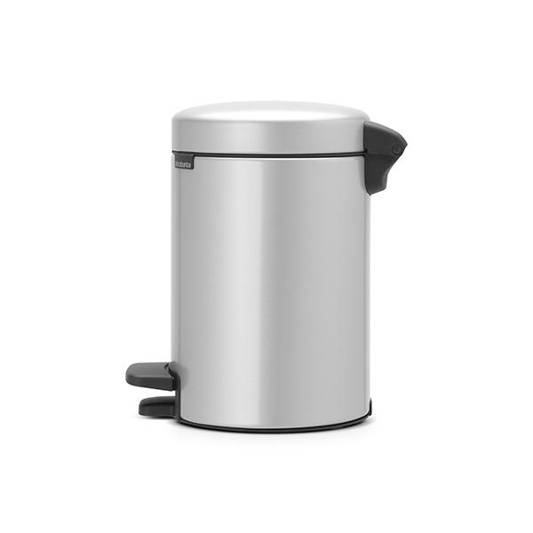 Кош за смет с педал Brabantia NewIcon 3L, Metallic Grey(1)