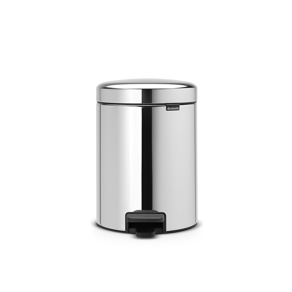 Кош за смет с педал Brabantia NewIcon 5L, Brilliant Steel