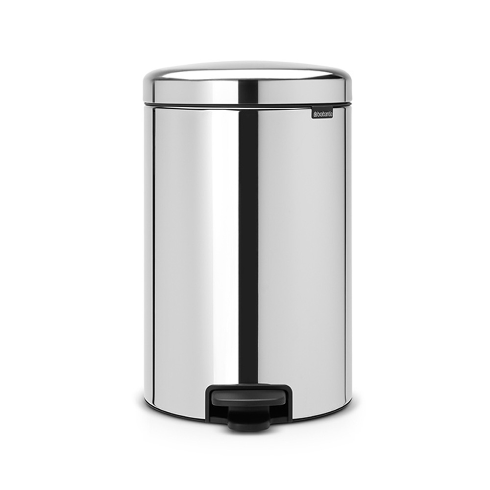 Кош за смет с педал Brabantia NewIcon 20L, Brilliant Steel