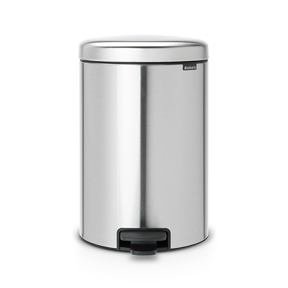 Кош за смет с педал Brabantia NewIcon 20L, Matt Steel Fingerprint Proof