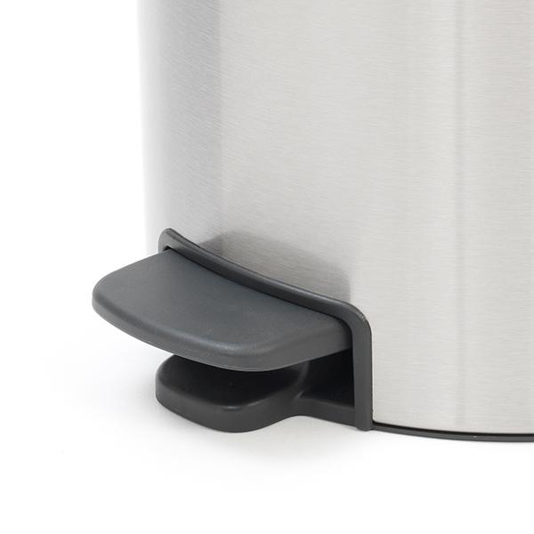 Кош за смет с педал Brabantia NewIcon 20L, Matt Steel Fingerprint Proof(4)