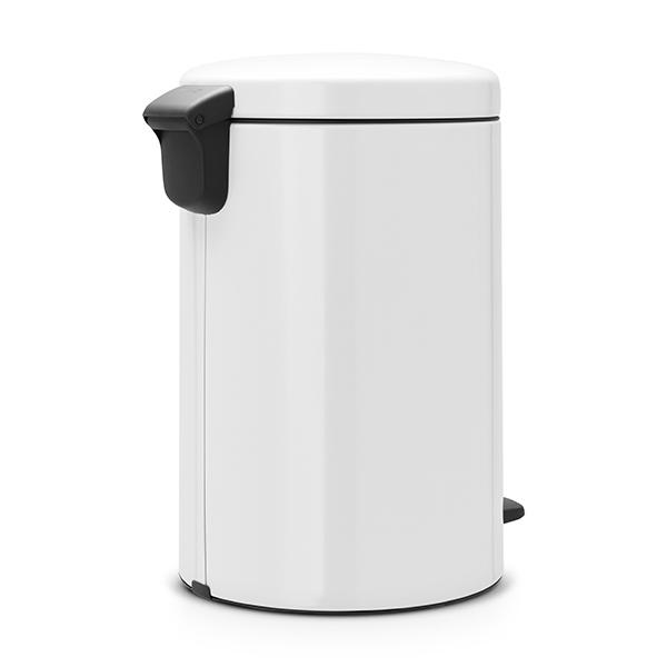 Кош за смет с педал Brabantia NewIcon 20L, White, метална кофа(2)