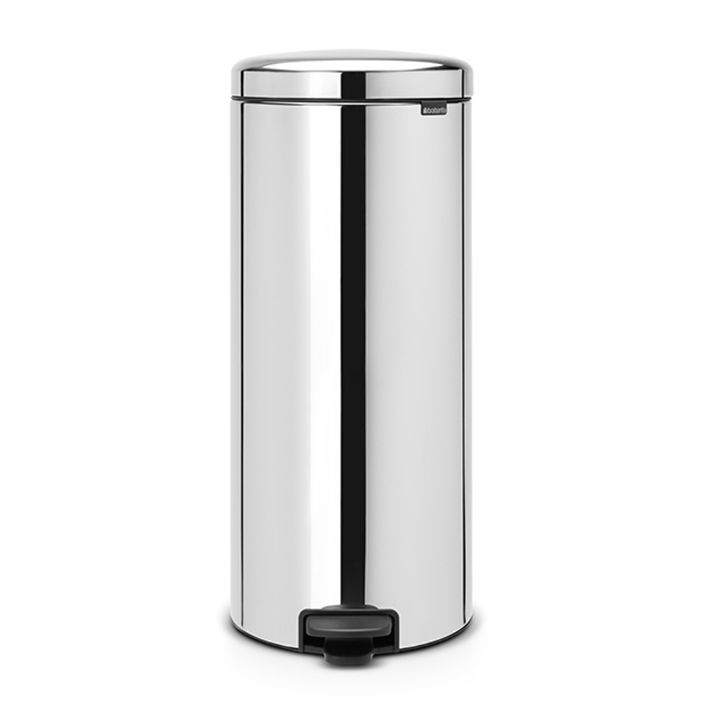 Кош за смет с педал Brabantia NewIcon 30L, Brilliant Steel