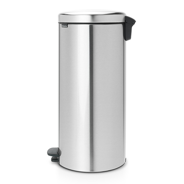 Кош за смет с педал Brabantia NewIcon 30L, Matt Steel Fingerprint Proof(1)