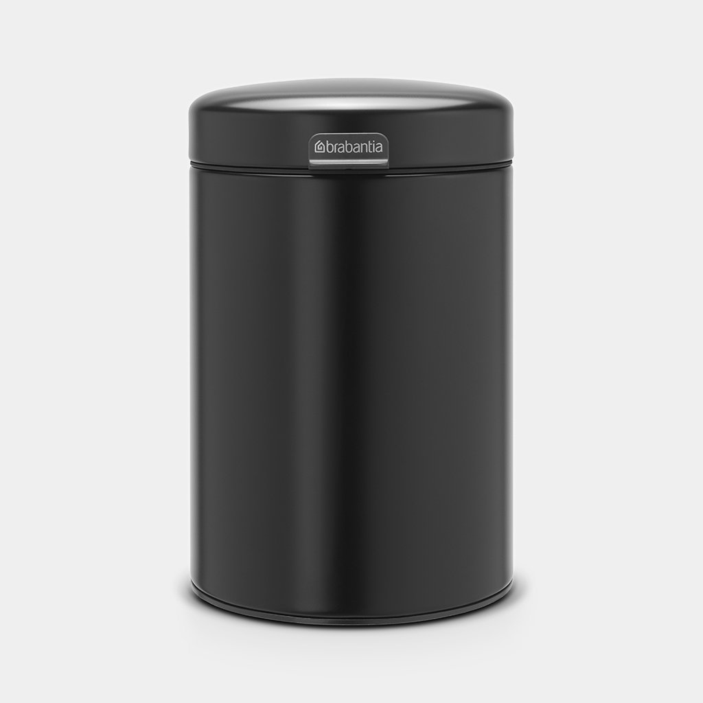 Кош за смет Brabantia NewIcon 3L, Metal Black, стенен монтаж