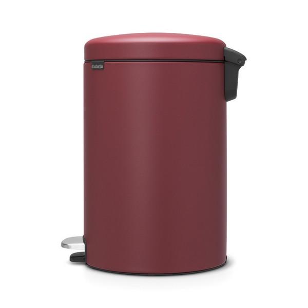 Кош за смет с педал Brabantia NewIcon 20L, Mineral Windsor Red(2)