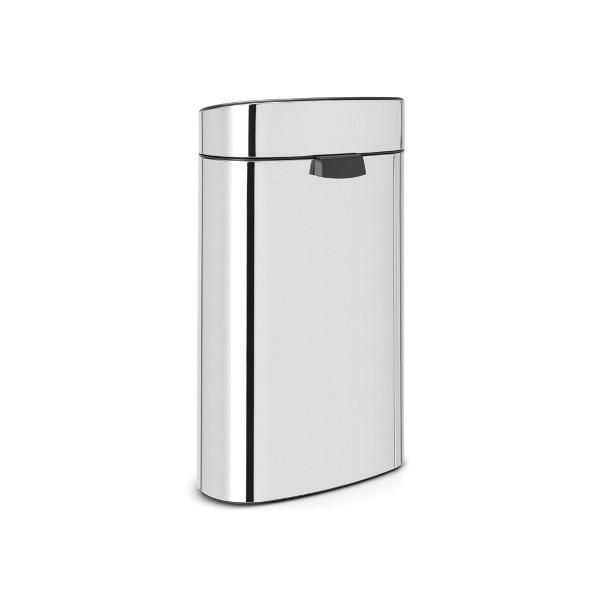 Кош за смет Brabantia Touch Bin New Recycle 23+10L, Brilliant Steel(1)