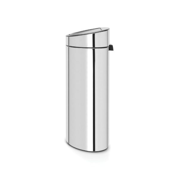Кош за смет Brabantia Touch Bin New Recycle 23+10L, Brilliant Steel