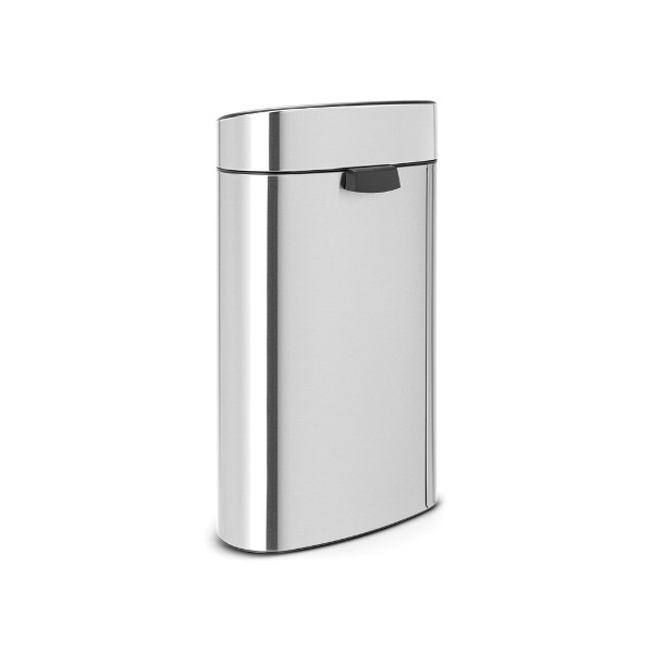 Кош за смет Brabantia Touch Bin New Recycle 23+10L, Matt Steel Fingerprint Proof(1)