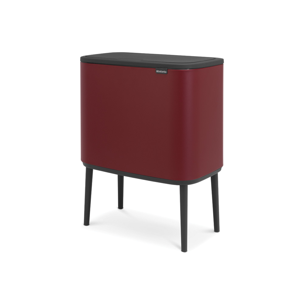 Кош за смет Brabantia Bo Touch 36L, Mineral Windsor Red(1)