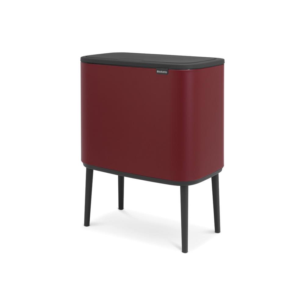 Кош за смет Brabantia Bo Touch 11+23L, Mineral Windsor Red(1)