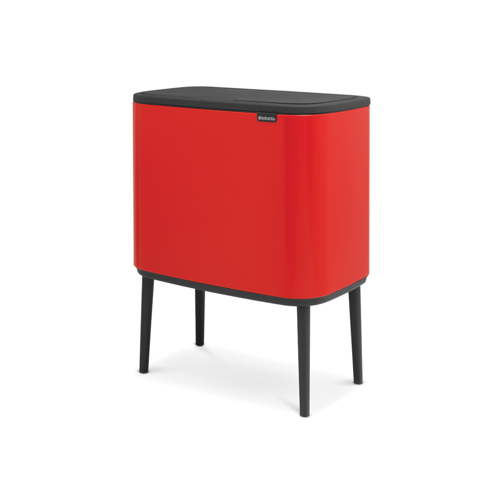 Кош за смет Brabantia Bo Touch 3x11L, Passion Red(1)