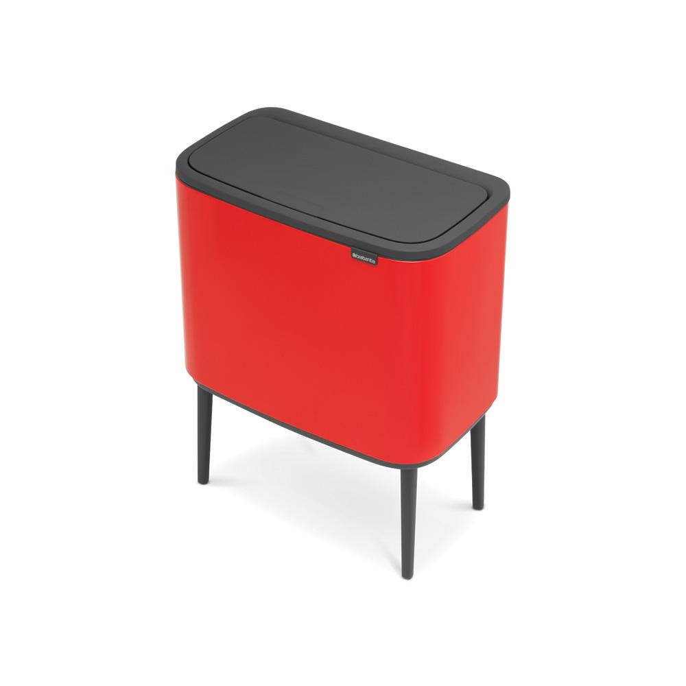 Кош за смет Brabantia Bo Touch 3x11L, Passion Red(2)