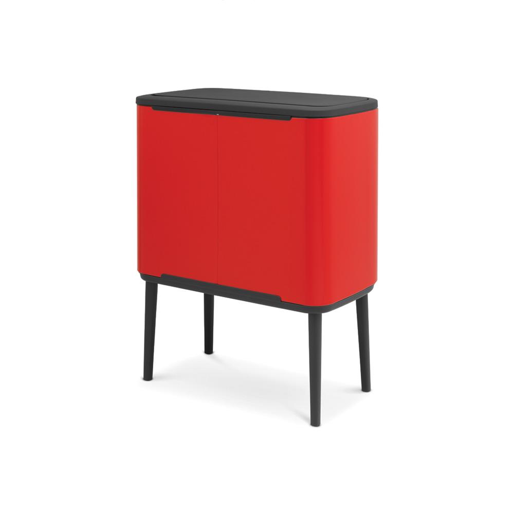 Кош за смет Brabantia Bo Touch 3x11L, Passion Red(3)