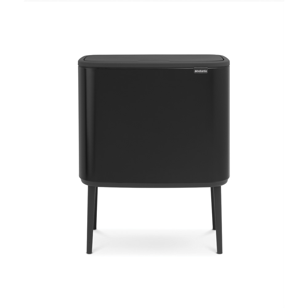 Кош за смет Brabantia Bo Touch 3x11L, Matt Black