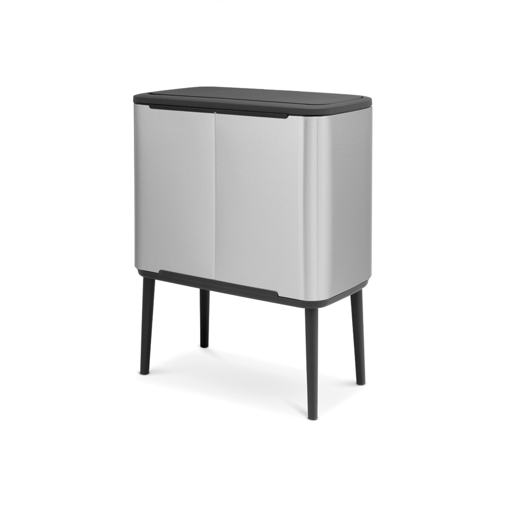 Кош за смет Brabantia Bo Touch 3x11L, Matt Steel Fingerprint Proof(2)
