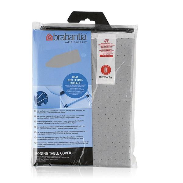 Калъф за маса за гладене Brabantia B 124x38cm, 2mm, Metallised(1)