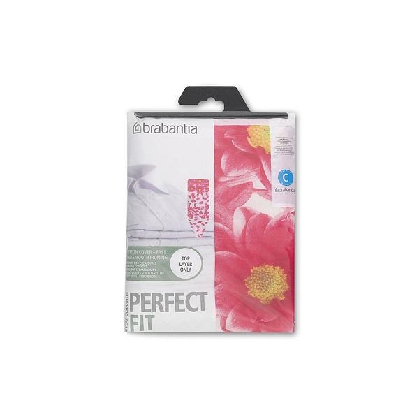 Калъф за маса за гладене Brabantia C 124x45cm, 2mm, Pink Santini(1)