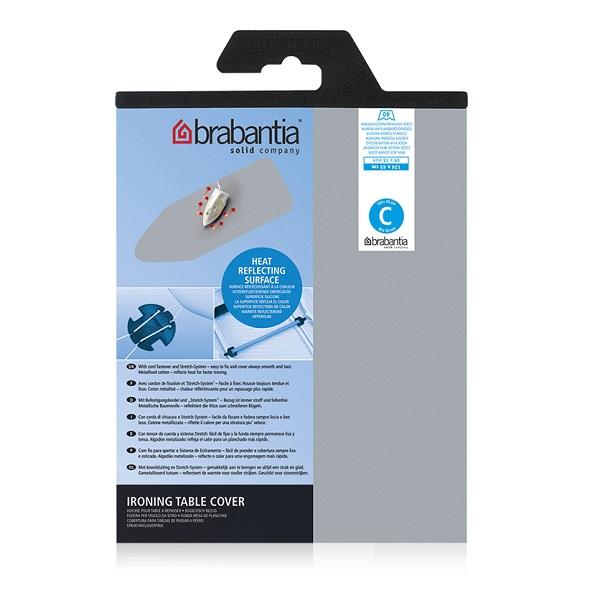 Калъф за маса за гладене Brabantia C 124x45cm, 2mm, Metallised(1)