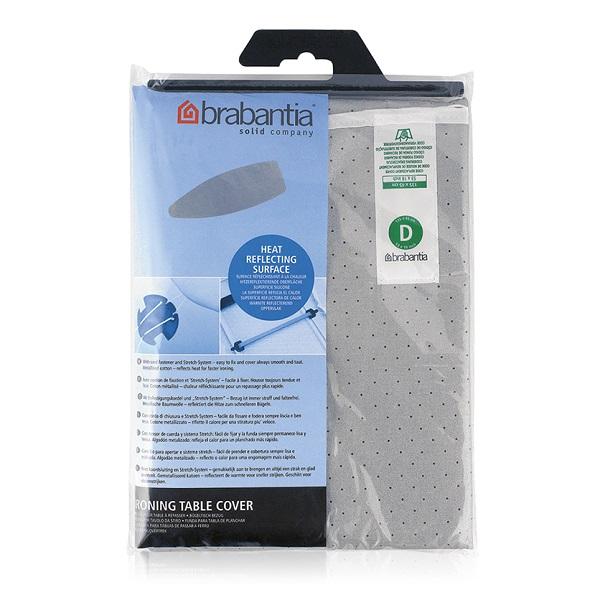Калъф за маса за гладене Brabantia D 135x45cm, 2mm, Metallised(1)