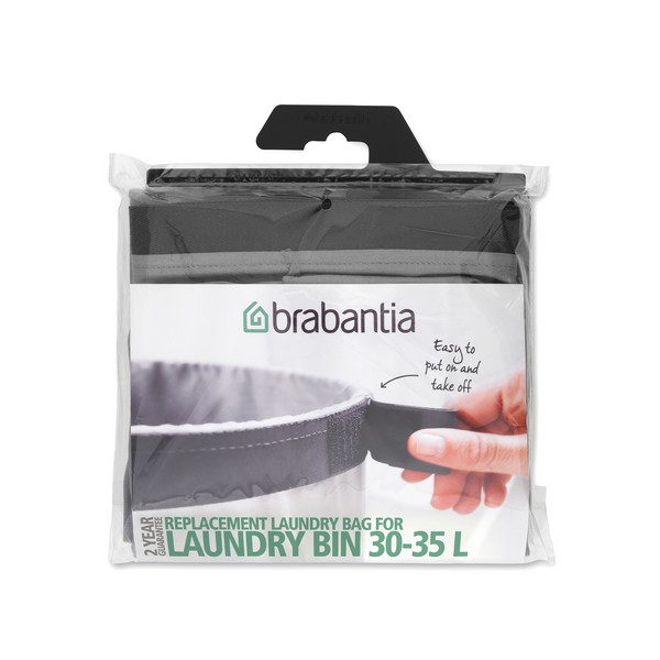 Торба за кош за пране Brabantia 30-35L Grey (1)