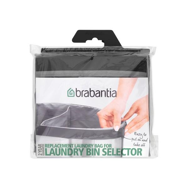 Торба за кош за пране Brabantia Selector 55L Grey (2)