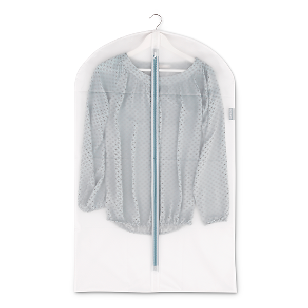 Калъф за дрехи Brabantia, размер M, 60x100cm, White, 2 броя(1)