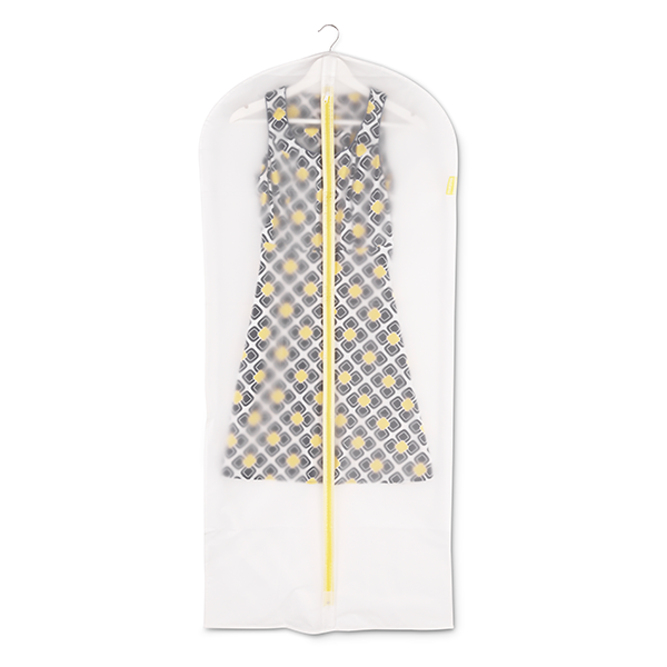 Калъф за дрехи Brabantia, размер L, 60x135cm, White, 2 броя(1)