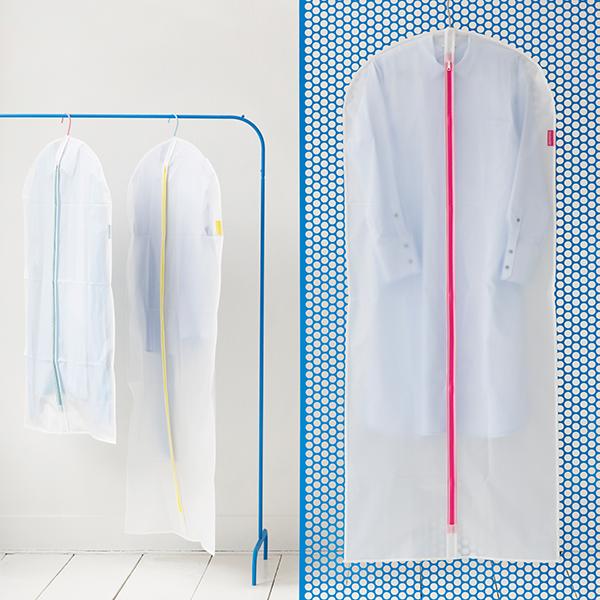 Калъф за дрехи Brabantia, размер XL, 60x150cm, White, 2 броя(2)