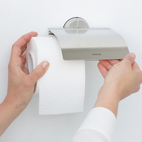 Държач за тоалетна хартия Brabantia Profile Matt Steel(2)