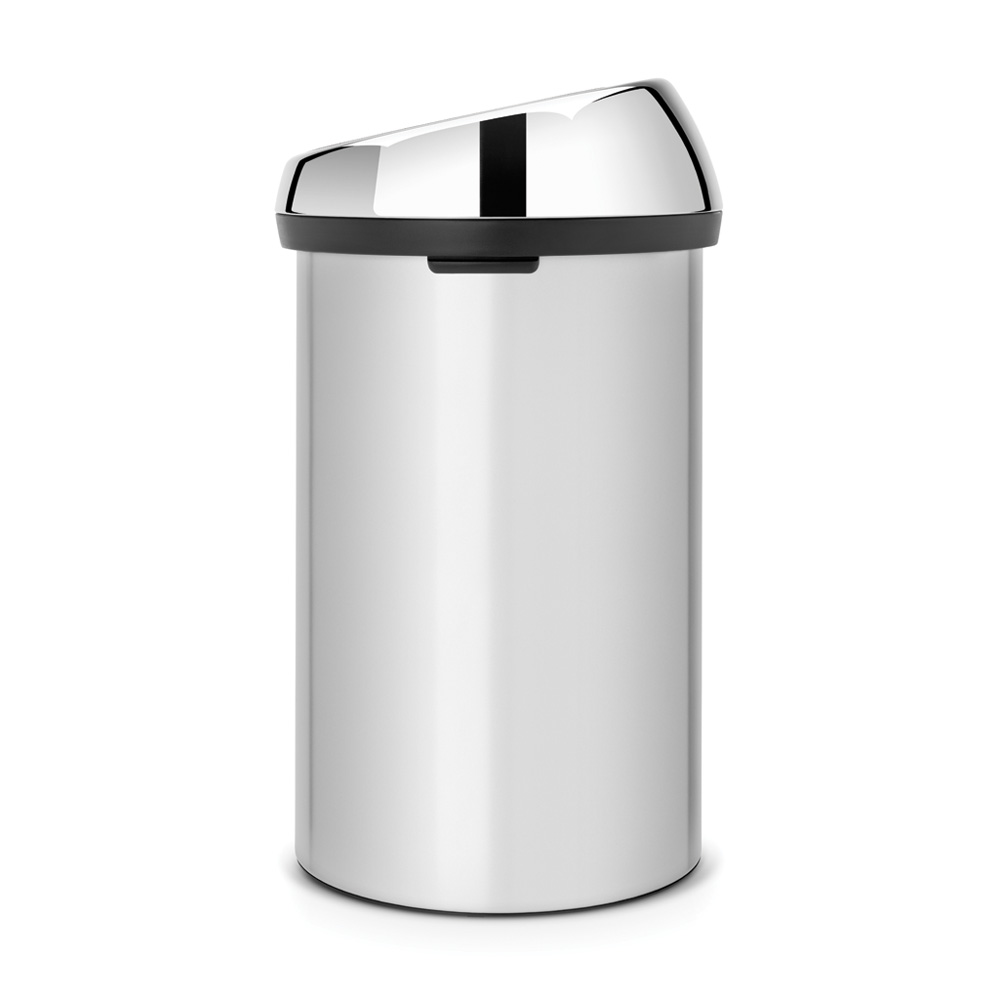 Кош за смет Brabantia Touch Bin 60L, Metallic Grey